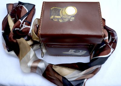 Brown Camera handbag