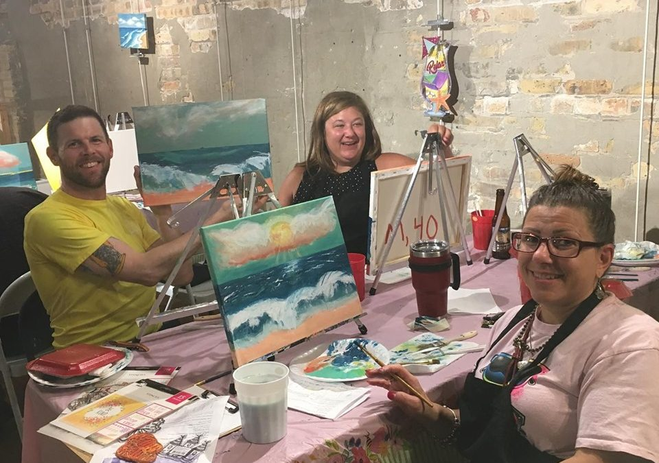 BYOB Paint and Sip at Andersonville Galleria